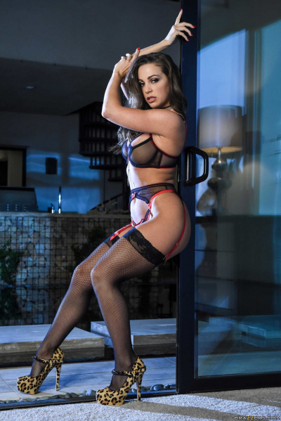 Abigail Mac Post In Sexy Dessous 08